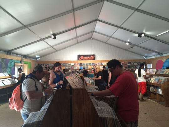 The Record Store at the 2016 Coachella Valley Music and Arts Festival.