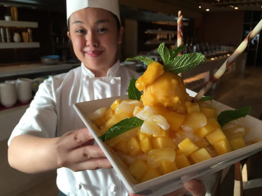 Lotte Hotel chef Jasmine Nadres with a Korean summer