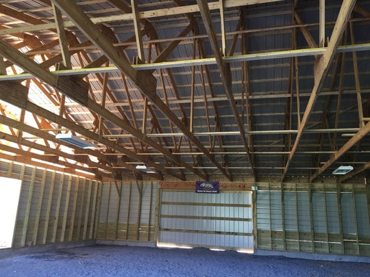 The funds to build a new barn at Buffalo Gap High School
