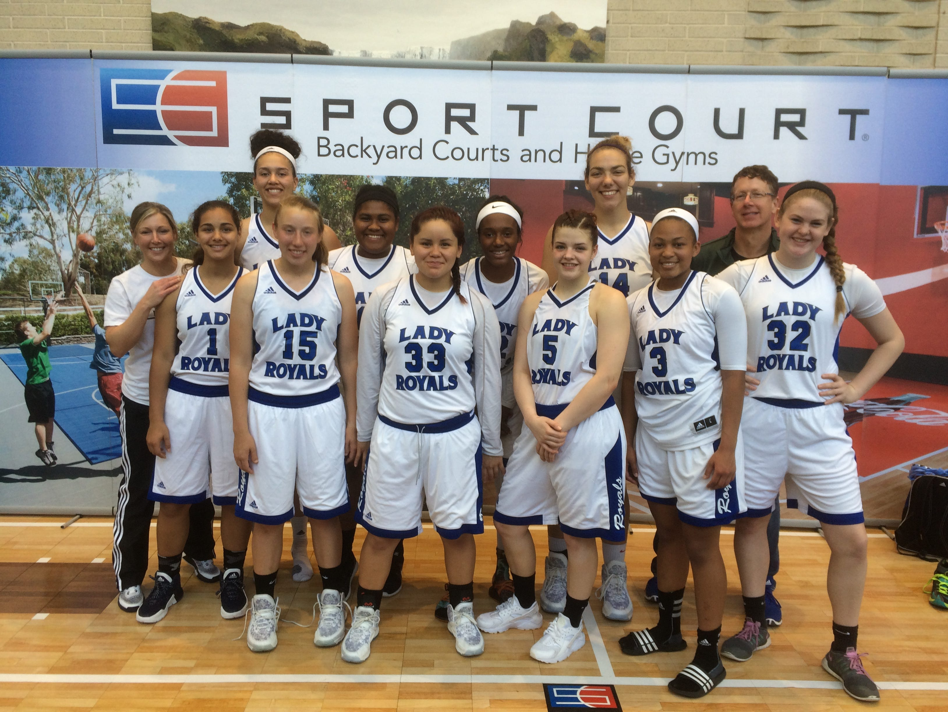 The WNC Lady Royals basketball team won the Deep South Showcase's 17 and under age division last weekend in Raleigh.
