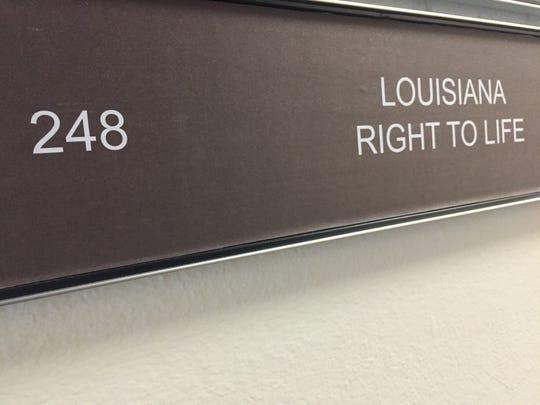 Louisiana Right to Life is one of Louisiana's pro-life
