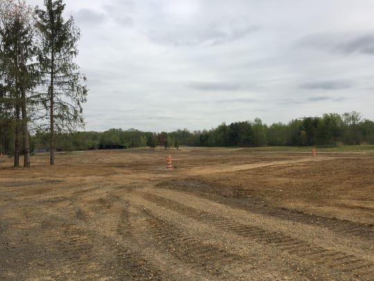 From cone to cone, the spot for The Bamboo Palace is ready for building. The banquet hall will be located on the grounds of Greek's Playland and fund the inperpetuity of the nonprofit organization for the disabled and disadvantaged.