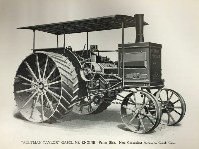 Aultman-Taylor Co. made a variety of horse-drawn and