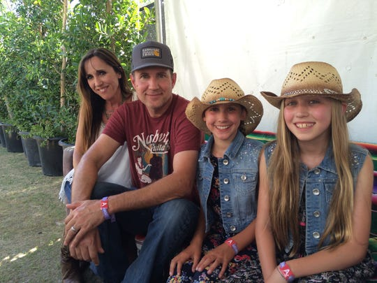The Roemer's from San Clemente are all performing at Stagecoach 2016.