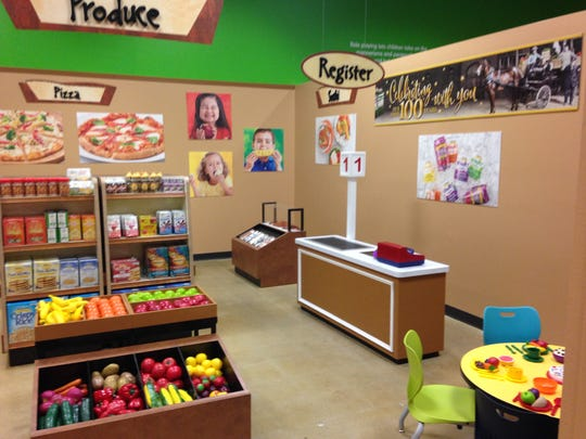 The Wegmans exhibit at the Children's Museum of Richmond in Chesterfield County, Virginia.
