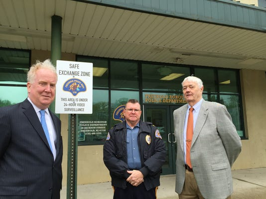Freehold Borough officials