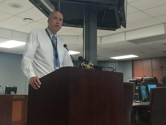 Williamson County Schools' Deputy Superintendent Jason Golden was named the interim superintendent Monday.