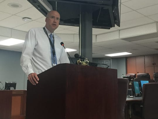 Williamson County Schools' Deputy Superintendent Jason Golden was named the interim superintendent Monday.