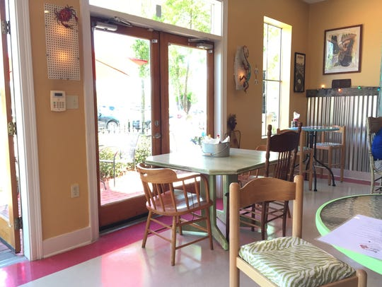 The interior of the new Zydeco Poboy and Daiquiri Shop
