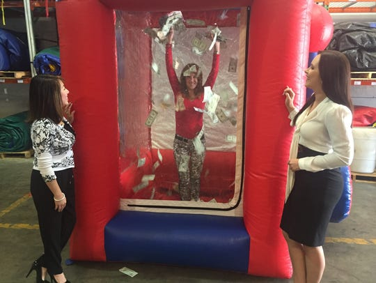The Child Advocacy Center's Prize Patrol was held Saturday