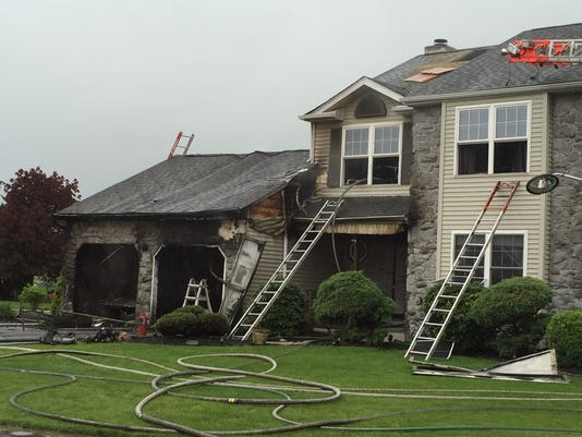 New Castle County fire