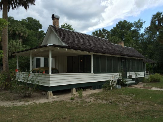 The Marjorie Kinnan Rawlings House is preserved just as it was when the famous Florida writer lived and worked there in the 1930s.