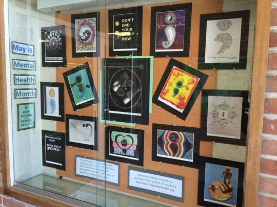 All of the art for the contest is currently on display at the Sturgeon Bay branch of the Door County Library.