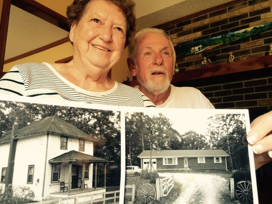 Jane and Leon Lance lived on Airport Road in the home