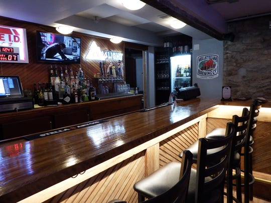 Inside West Branch's new The Down Under Brew Pub on