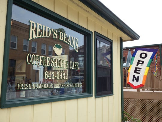Reid's Beans in West Branch on May 7, 2016.