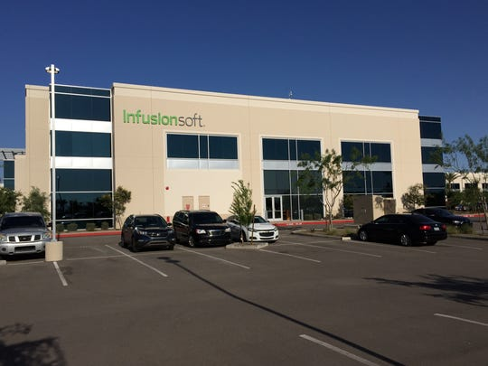 Infusionsoft, a sotware company, employes more than