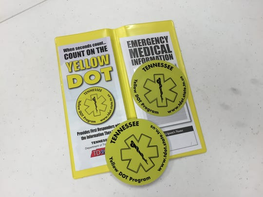 The Yellow DOT program helps first responders treat
