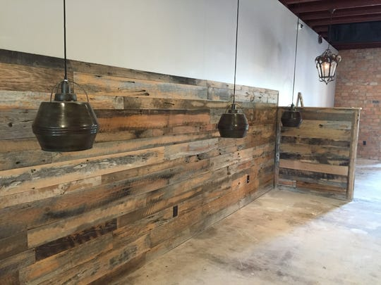 When it opens, the Kitchen Sync will become Greenville's first certified Green restaurant, thanks to details like using reclaimed wood, Energy Star appliances, solar panels and sourcing locally..