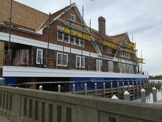 Charlie's of Bay Head is under construction near the intersection of Lake and Bridge Avenues.