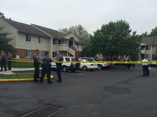 A man was shot and killed at an apartment complex on