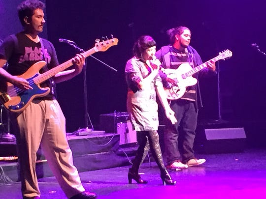 East Valley band Venus and the Traps performed at the McCallum Theatre as part of the program, East Valley Voices Out Loud in 2016.