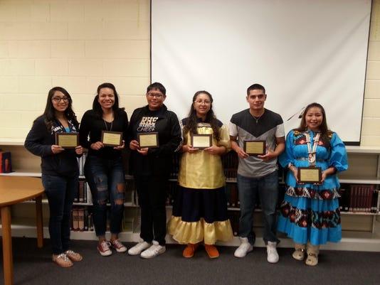 RHS Native American honorees