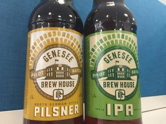 Genesee Brew House Pilot Batch beers