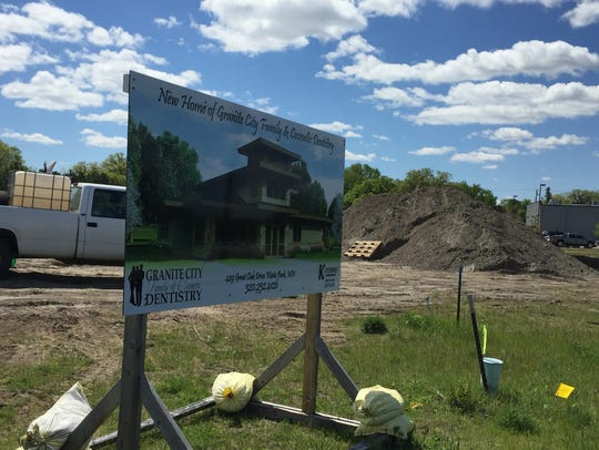 Construction is underway at the new Granite City Family