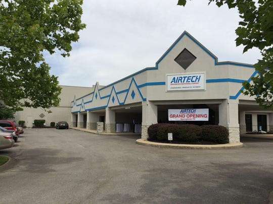 Airtech Advanced Materials Group, located on Evergreen Drive in the North Springfield Industrial Park, recently relocated from California to an empty building awaiting development.