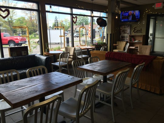 Periwinkle's Coffee and Tea Shoppe is an open and inviting space, and the Galloways hope that people will make it a hangout spot.