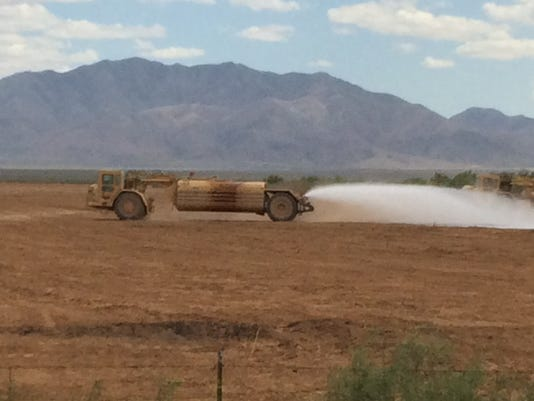 Arizona uses Gorilla-Snot to quell dust