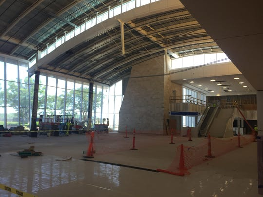 The Great Hall at GSP is still under construction and will open in October.