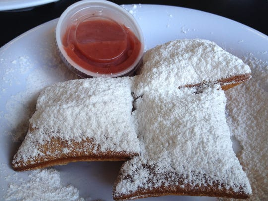 Marilynn's Place is known for its beignets.