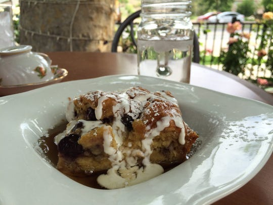 The Pain Perdu is a French-style French toast served