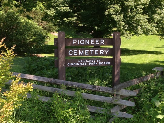 The Pioneer Cemetery, the old Columbia Baptist Cemetery