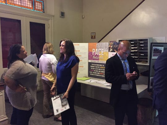 """Locals attend a Wilmington-area event called  """"Preparing Our Children for Success —Avoiding and navigating the Juvenile Justice System."""