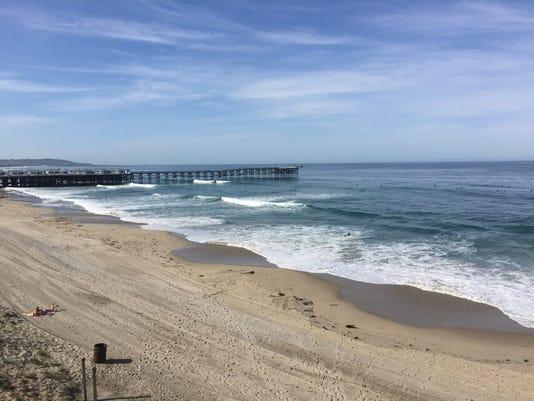Crystal Pier Is A Landmark On San Go S Pacific Beach Photo Dawn Gilbertson The Republic