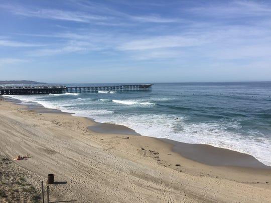 Crystal Pier is a landmark on San Diego's Pacific Beach.