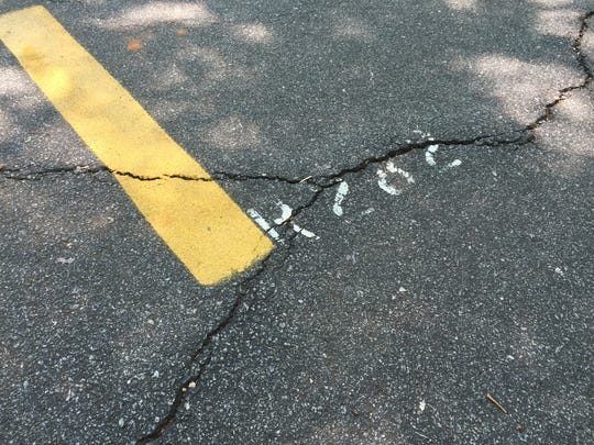 Greenville County is addressing cracks on the Swamp