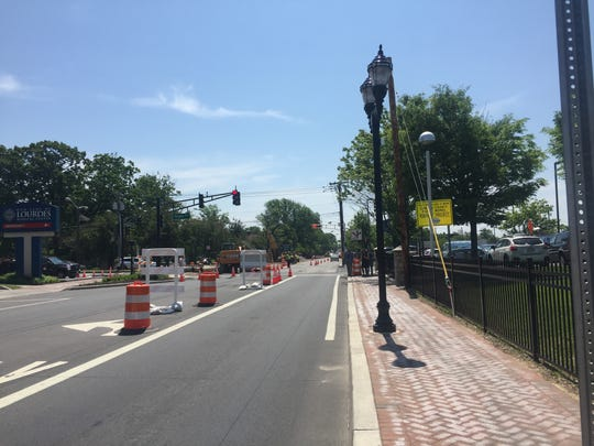 Camden County officials announced phase 2 of improvements along Haddon Avenue, including new lighting, ADA-compliant walkways, improved storm drainage and dedicated bike lanes.