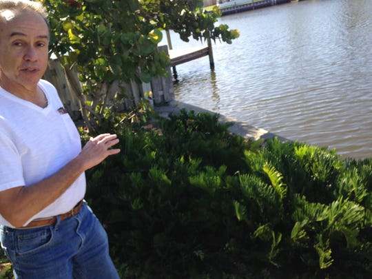 Al Vazquez describes how five years ago, for environmental reasons, he converted his turf grass yard along a Satellite Beach canal to native plants and trees. An avid kayaker, Vazquez was concerned about fertilizer impacts to the Indian River Lagoon.