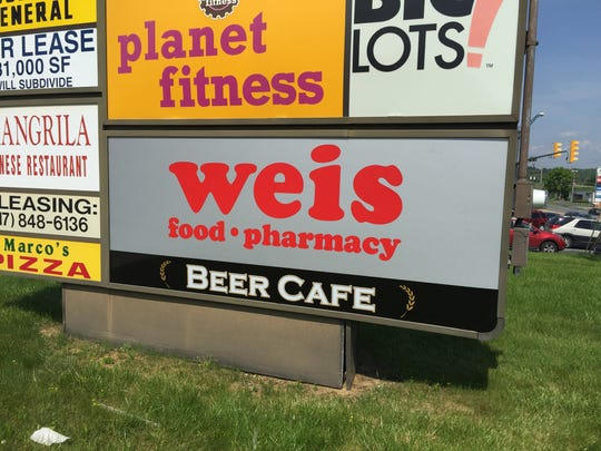 Weis Markets opened a beer cafe at its White Street grocery store. The grocery chain has six beer cafes in York County. Plans now are to push into wine sales.