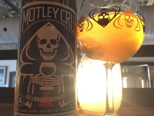 Bellwoods' Motley Cru, a blended wild ale, was a unique