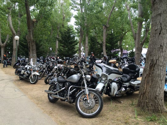 Harley-Davidson held its 10th Euro Festival in Golfe