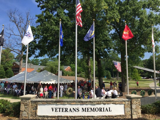A large crowd gathered for Mauldin's annual Memorial