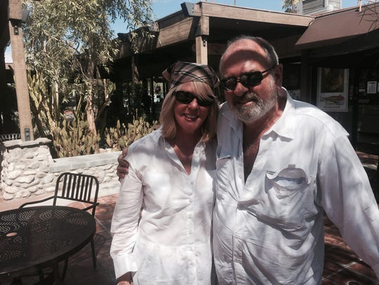 Spike Edney, seen with his wife, Kyle Verwers at Smoke
