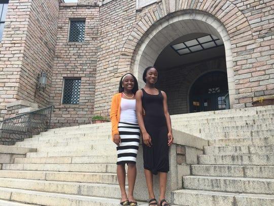 Asheville High student Ockeyana Williams and SILSA
