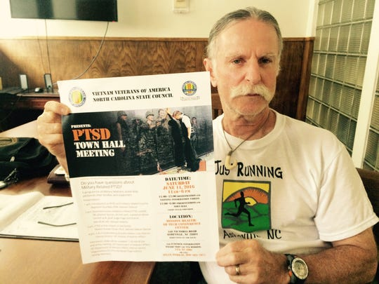 Allan Perkal, a Vietnam veteran and an organizer of the upcoming PTSD Town Hall Meeting, says they hope the event appeals to veterans of all wars.