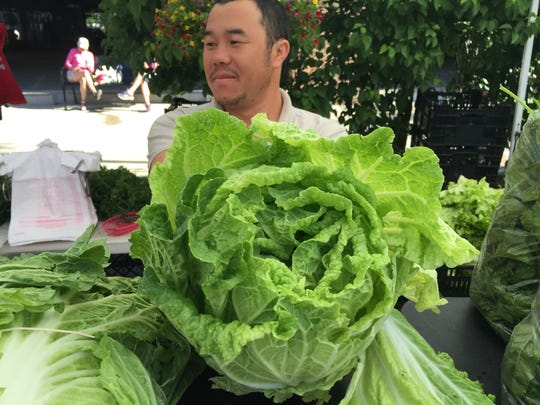 Napa cabbage from Mai's Homegrown Flowers & Produce